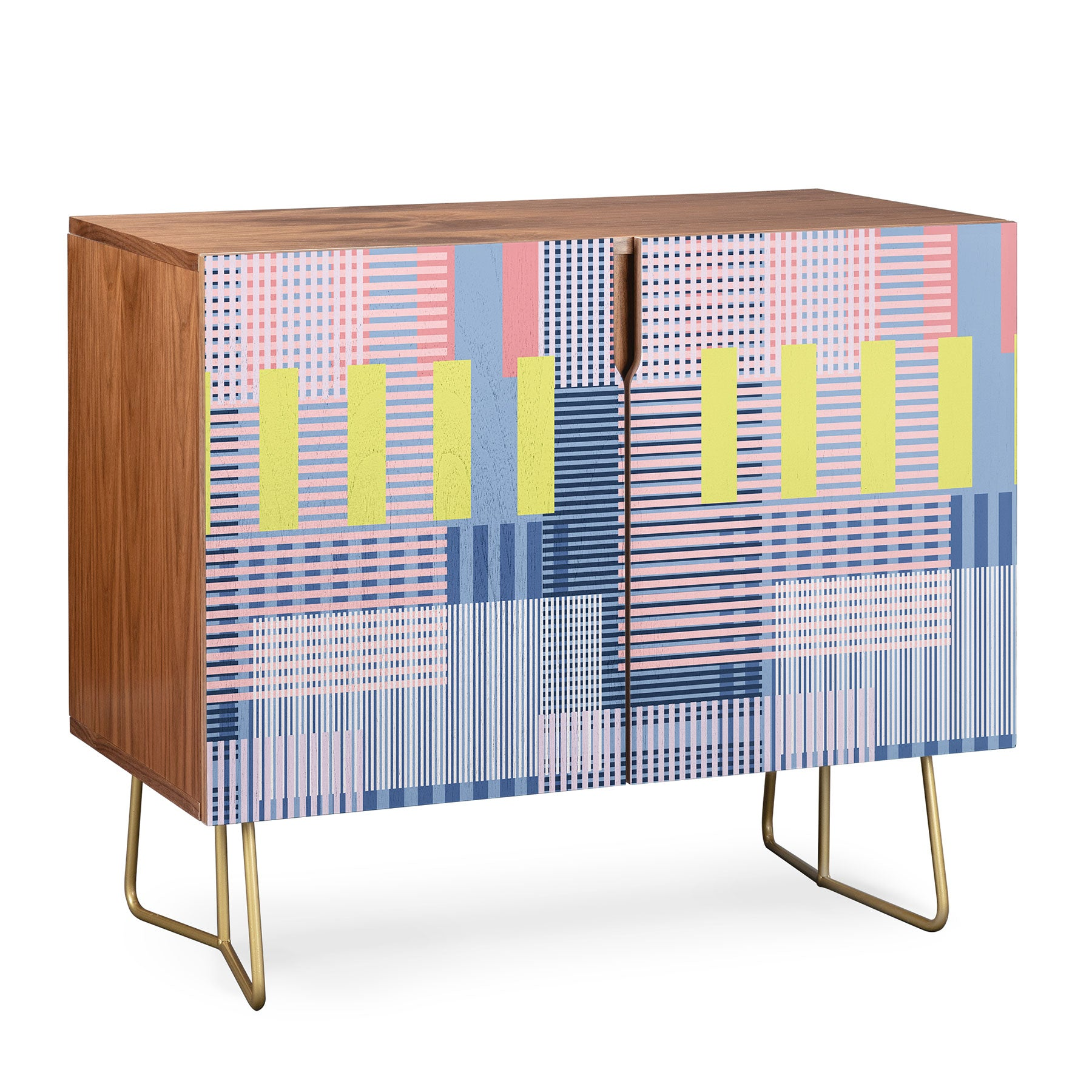 Mareike Boehmer Color Blocking Blocks 1 Credenza