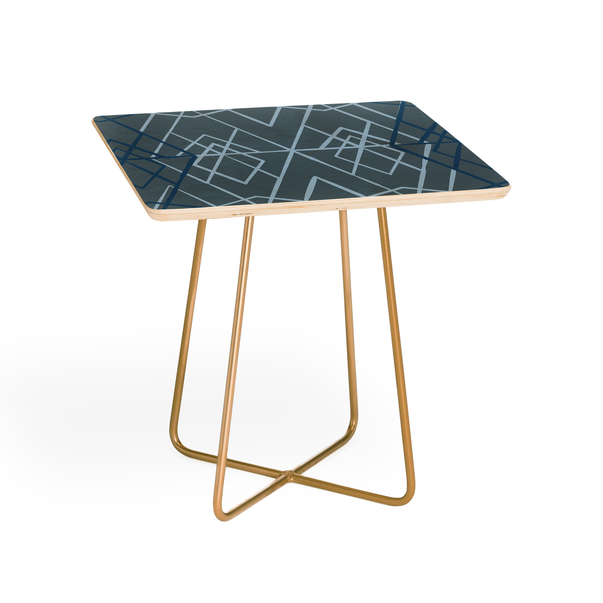 Mareike boehmer geometric sketches 1 side table deny designs geotapseo Gallery