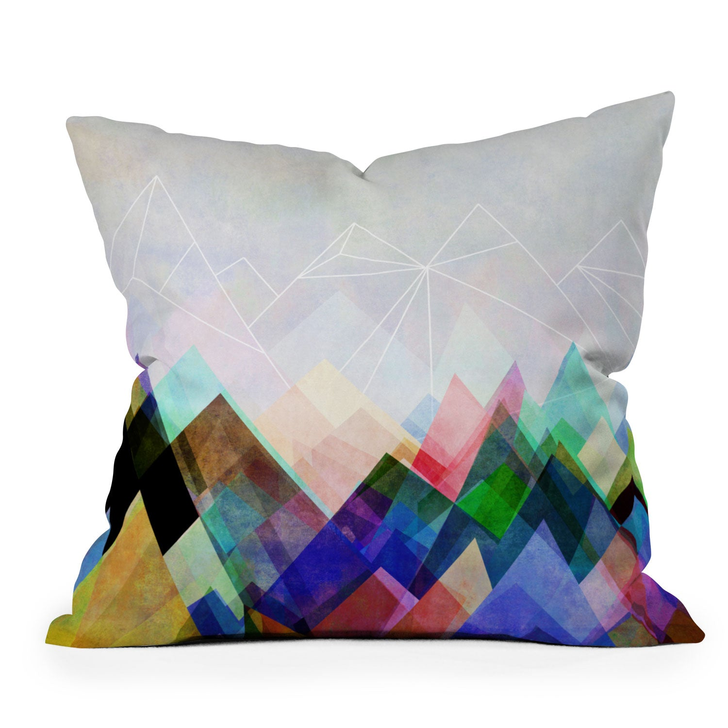 Graphic 104 Y Throw Pillow Mareike Boehmer