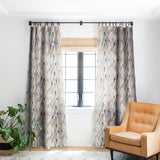 Mareike Boehmer Triangle Play Mosaic 1 Blackout Window Curtain