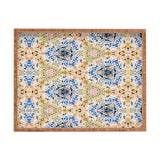 Marta Barragan Camarasa Abstract Pointillism Mosaic I Rectangular Tray