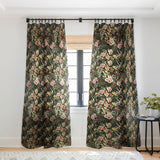 Marta Barragan Camarasa Dark bloom I Sheer Window Curtain