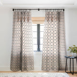 Marta Barragan Camarasa Mosaic pattern geometric marbled I Sheer Window Curtain