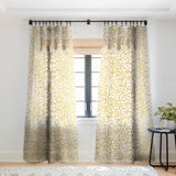 Marta Barragan Camarasa Wildness abstract brushstrokes Sheer Window Curtain