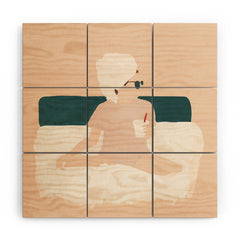 Megan Galante Weekend Mode Wood Wall Mural