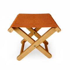 Mirimo African Diamond Red Ochre Folding Stool