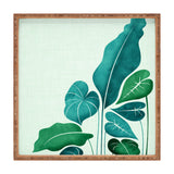 Modern Tropical Cacophony Square Tray
