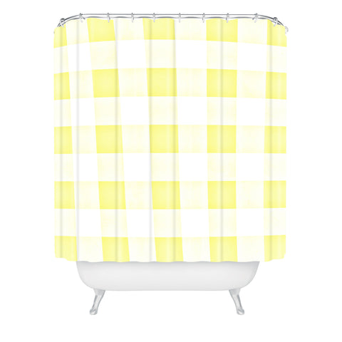 Gingham Shower Curtains | Deny Designs