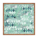 Monika Strigel LILY MINT MERMAID Square Tray