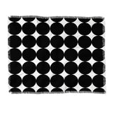 Natalie Baca Mod Polka Dot Throw Blanket