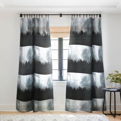 Nature Magick Foggy Forest Adventure Sheer Window Curtain