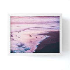 Nature Magick Summer Ocean Sunset Framed Mini Art Print