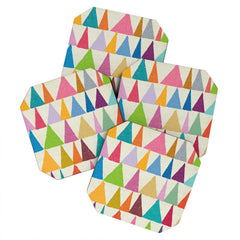 Nick Nelson Analogous Shapes In Bloom Coaster Set