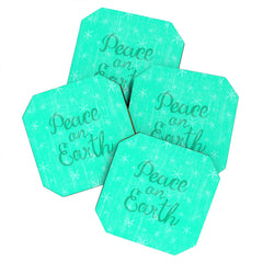 Nick Nelson Peaceful Wishes Coaster Set