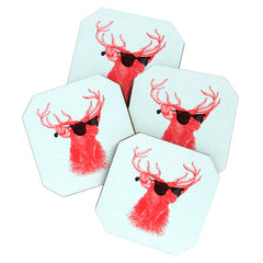 Nick Nelson Young Buck Coaster Set