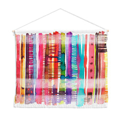 Ninola Design Colorful weaving loom Wall Hanging Landscape