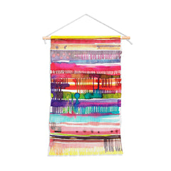 Ninola Design Colorful weaving loom Wall Hanging Portrait