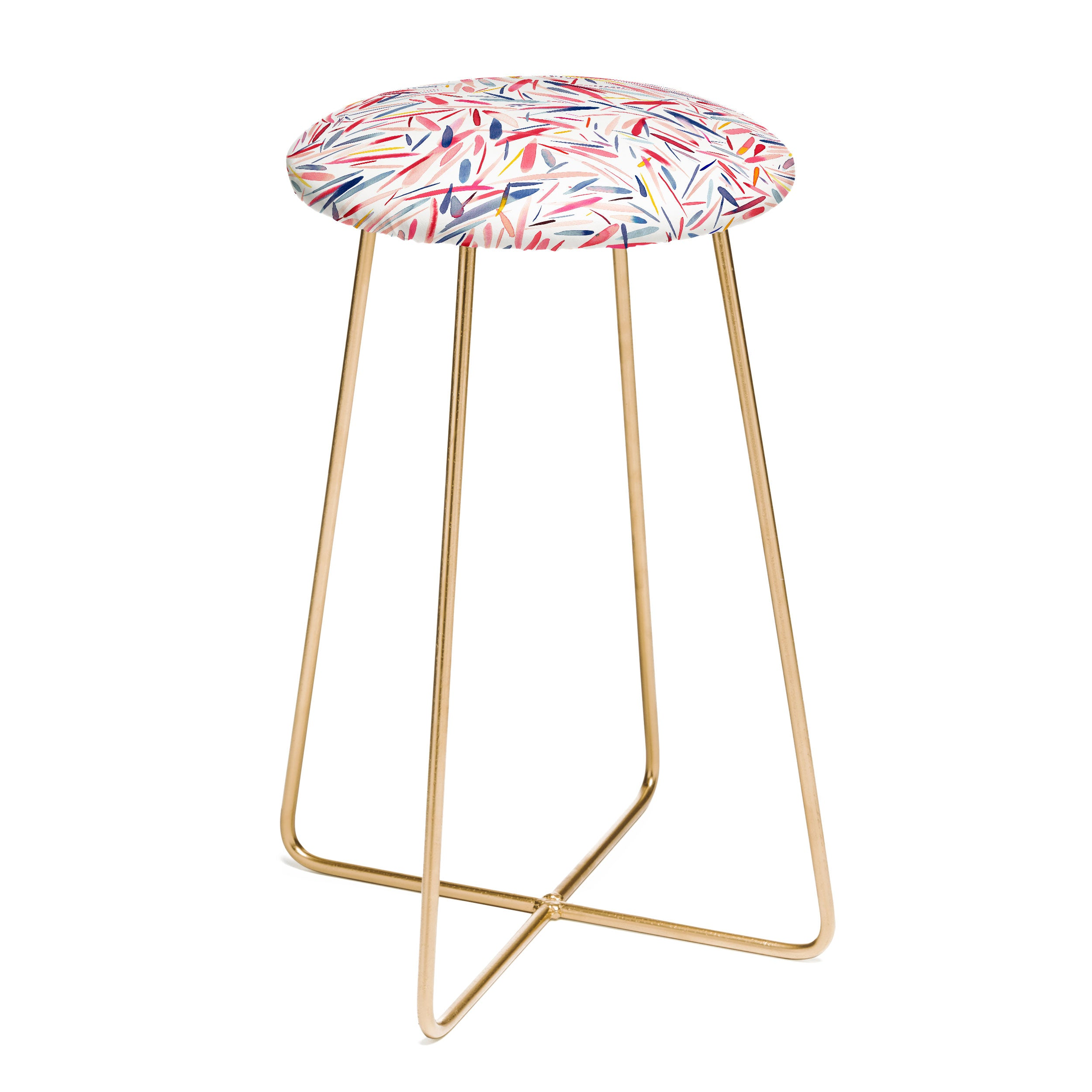 Ninola Design Holiday Rain Counter Stool