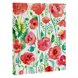 Ninola Design Spring Cute Poppies Art Canvas
