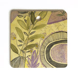 Olivia St Claire Time to Dream and Laugh Cutting Board Square