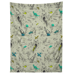 Pattern State Adventure Toile Tapestry
