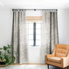 Pattern State Marble Sketch Blackout Window Curtain