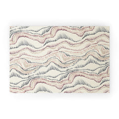 Pattern State Marble Sketch Welcome Mat