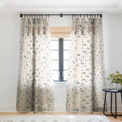 Pattern State Terrazzo Sketch Sheer Window Curtain
