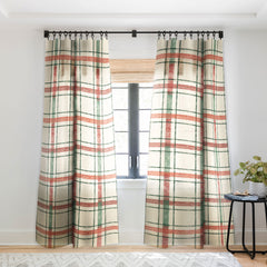 Pimlada Phuapradit Christmas Tartan 2 Sheer Non Repeat