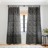 Pimlada Phuapradit Ditsy floral Black and white Sheer Window Curtain