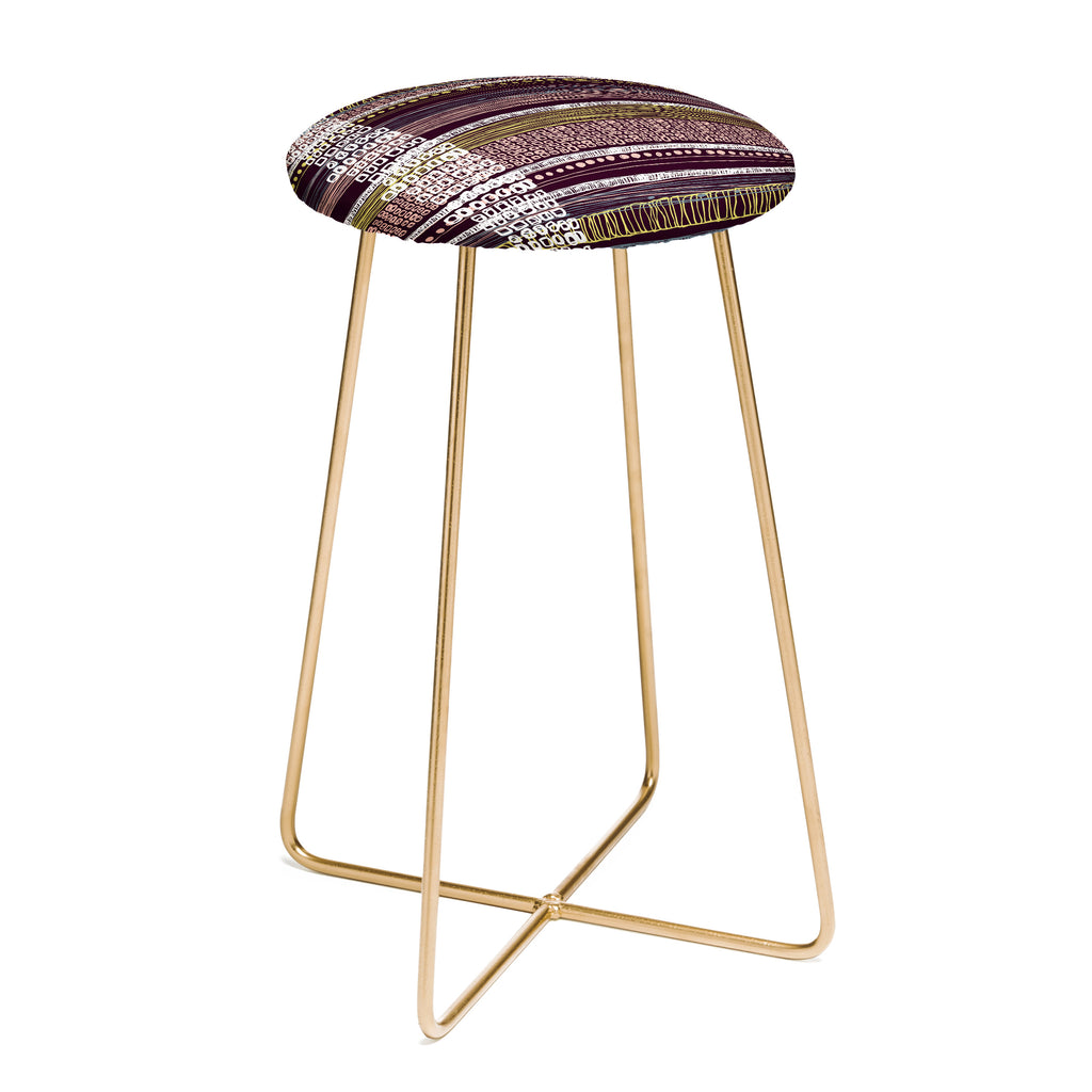 Awesome Abstract Border Counter Stool Rachael Taylor Ibusinesslaw Wood Chair Design Ideas Ibusinesslaworg