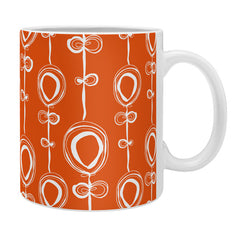 Rachael Taylor Contemporary Orange Coffee Mug