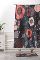 Rachael Taylor Geo Flowers Shower Curtain And Mat