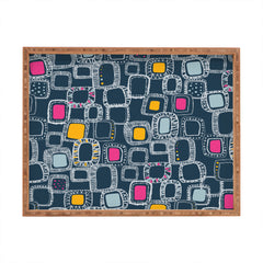 Rachael Taylor Shapes And Squares 1 Rectangular Tray