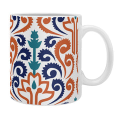 Raven Jumpo Adobe Damask Coffee Mug