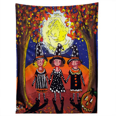 Renie Britenbucher 3 Little Witches Tapestry