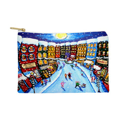 Renie Britenbucher Christmas Shoppers Pouch