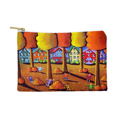 Renie Britenbucher Kids Raking Leaves Pouch