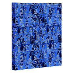 Renie Britenbucher Periwinkle Neighborhood Art Canvas