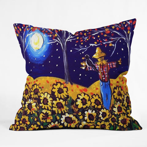 At Scarecrow In The Moonlight Art Products Deny Designs