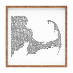 Restudio Designs Cape Cod Map Square Tray