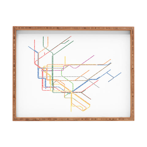 Nyc Subway Map Canvas Wall Art.At Nyc Subway Map Art Products Deny Designs