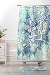 RosebudStudio Lovely Soul Shower Curtain And Mat