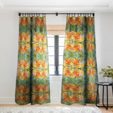 Rosie Brown Abstract 2 Sheer Window Curtain