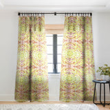 Rosie Brown Ball Pit Sheer Window Curtain
