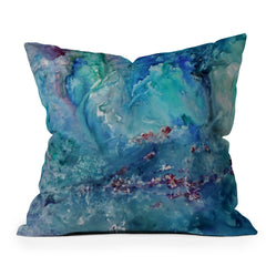 Rosie Brown Diver Paradise Throw Pillow