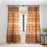 Rosie Brown Hello Hibiscus Sheer Window Curtain
