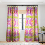 Rosie Brown Marmalade Sky Sheer Window Curtain