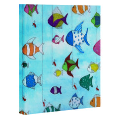 Rosie Brown Tropical Fishing Art Canvas