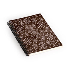 Ruby Door Frosty Chocolate Spiral Notebook